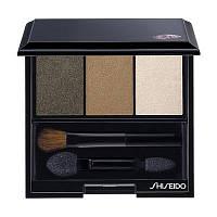 Shiseido Тени 3-цветные компактные для век Luminizin g Satin Eye Color Trio, BR307 кремово-коричневый 3 g