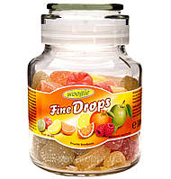 Леденцы Fine Drops Woogie со вкусом фруктовое ассорти, 300 гр