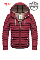 Куртка с теплым капюшоном Био-Пуховики до -3°C размер: (46-S) (48-M) (50-L) (52-XL) (54-XXL) (56-3XL