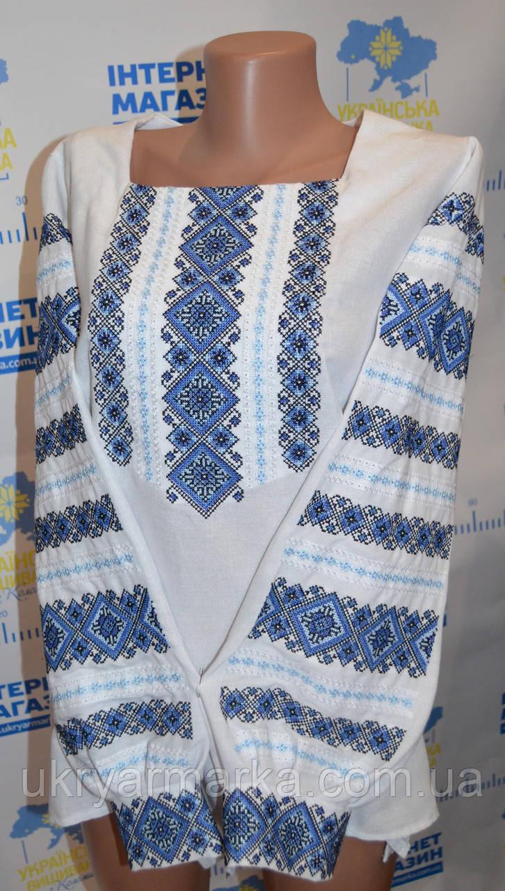 """Блуза вишиванка  """"Серпанок"""" . Укрярмарка з Коломиї."""