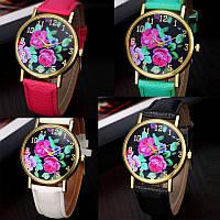 Модные нежные женские часы Rose 4 цвета