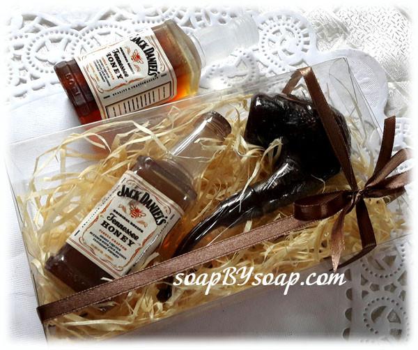 Упаковка для мужского мыла