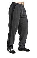 Мужские спортивные штаны темно-серые, фото 1