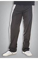 Чоловічі спортивні болоневі штани чорні, фото 1