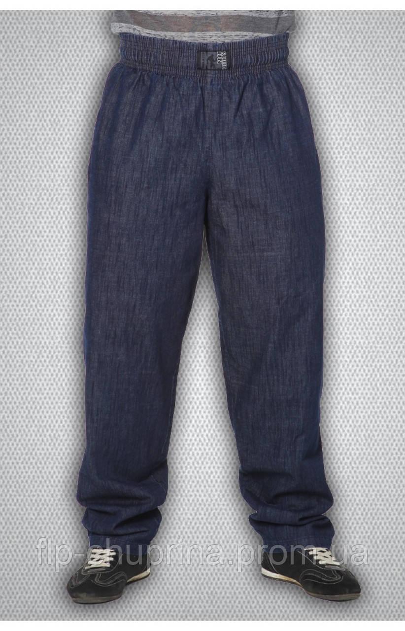 Мужские спортивные штаны синие, фото 1