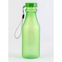 Бутылочка для воды YES 500ml Зеленый