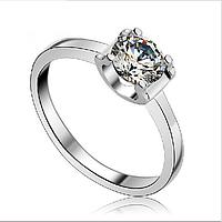 """Кольцо Swarovski кольцо с бриллиантом """"Тюльпан"""""""
