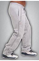 Мужские спортивные зимние штаны серые