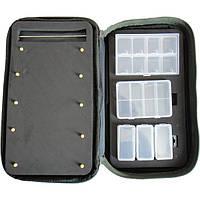 Сумка  для поводков  с 3-я коробочками 650-031576