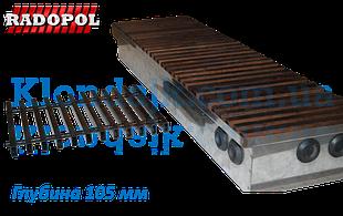 Конвекторы KV глубиной 105 теплоотдача от 280 до 3 720 ват