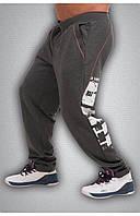 Чоловічі спортивні зимові штани сірі