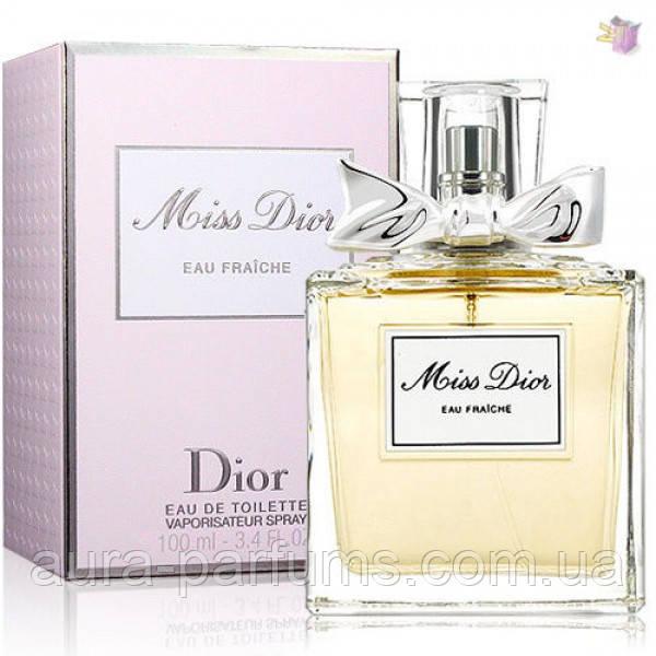 Christian Dior Miss Dior Eau Fraiche edt 100 ml. w оригинал  продажа ... 5a93422de22ee