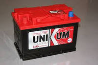 Автомобильный аккумулятор Unikum 75Ач 600А (0) R