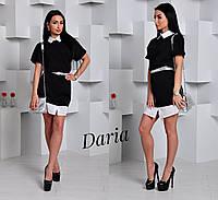 Женское красивое платье-рубашка (2 цвета), фото 1