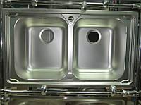Мойка кухонная из нержавеющей стали Franke Logica Line LOL - 620 декор