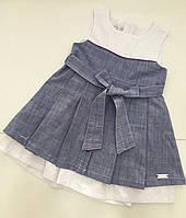 Детское летнее платье для девочки на 2 - 6 лет