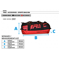 TREC nutritionАксессуарыTraining Bag 004 red/black