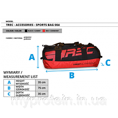 TREC nutritionАксессуарыTraining Bag 004 red/black