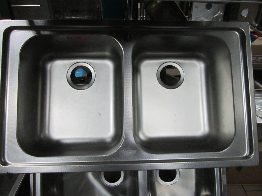 Мойка кухонная из нержавеющей стали Dominox Radar L декор