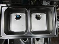 Мойка кухонная из нержавеющей стали Dominox Radar L декор, фото 1