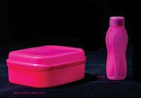 Бутылка Мини 310 мл Tupperware неоновая розовая, фото 1