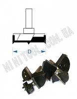 Фреза торцевая мебельная (для сверловки глухих отверстий) D=15mm, хвостовик - 8mm
