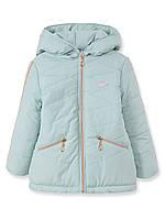 Детская демисезонная куртка для девочки Тифани, мята, р.92-116