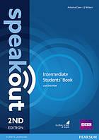 Speakout Intermediate Students Book with DVD-Rom. Second Edition (Второе издание)