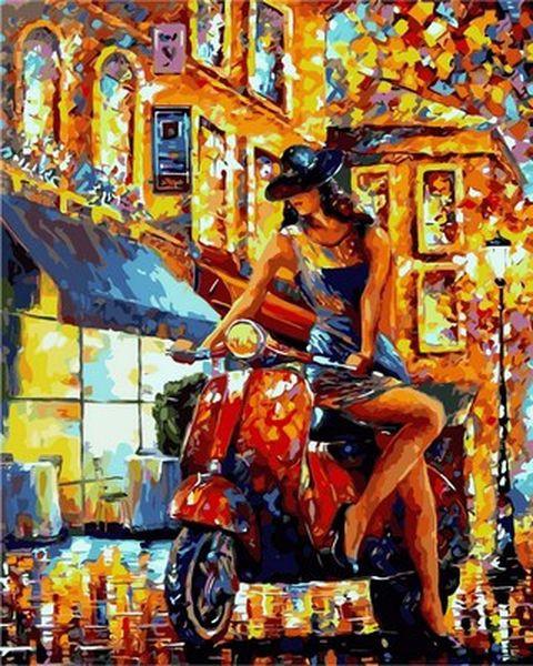 Раскраски по номерам 40×50 см. Итальянский стиль Художник Роман Федосенко