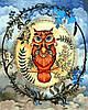 Набор для рисования 40×50 см. Сова Художник Джоанна Бэсфорд