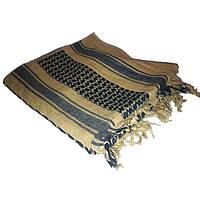 Шемаг (шарф арафатка), койот с черным