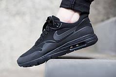 Мужские кроссовки Nike Air Max 90 Hyperfuse черные топ реплика