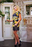 Короткое летнее платье 0772 Seventeen 46-48 размеры