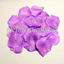 Лепестки розы, цвет сиреневый,  20шт
