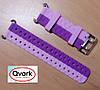 Ремешок силиконовый двухцветный (розовый с фиолетовым) Q60 Q70 Q80 Q90 Q100 Q100s Q101 Q750.