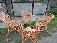 Плетеный набор мебели из лозы, фото 1