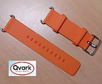 Ремешок силиконовый оранжевый Q60 Q70 Q80 Q90 Q100 Q100s Q101 Q750.