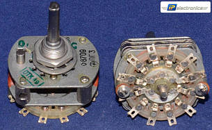 ПГ3-5П2Н Перемикач галетний