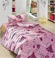 Полуторное постельное белье детское ранфорс