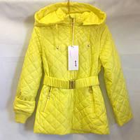 Желтая куртка весенняя опт