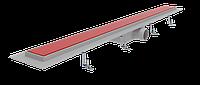 Лоток душевой со стеклянной накладкой RED PAINTED 80 см Styron