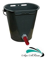 Ведро для выпойки теленка (ведро-поилка с соской и клапаном), 8 л, фото 1