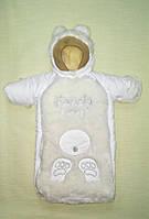 Конверт на овчине для новорожденных