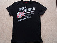 Футболка для Harley Davidson  р. L ( ROCK REBELS MONTEZUMA )