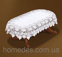 Жаккардовая скатерть 130х180 на овальный стол