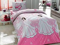 Полуторное постельное белье из ранфорса детское