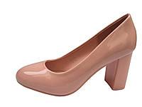 Женские туфли на очень удобном каблуке 36-41рр.