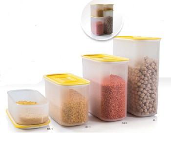 Набор контейнеров Акваконтроль (320мл/800мл/1,25л/1,7л) 4 шт. Tupperware