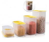 Набор контейнеров Акваконтроль (320мл/800мл/1,25л/1,7л) 4 шт. Tupperware, фото 1