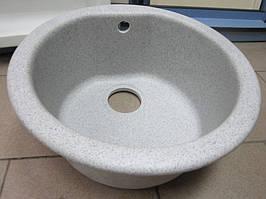 Гранитная кухонная мойка Plados Atlantic 43.10 (99-Pearl Grey)